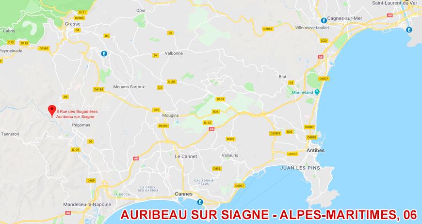Adresse de l'association Guéris Sons à Auribeau sur Siagne - Alpes-Maritimes, 06