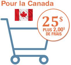 Ajouter au panier pour le Canada